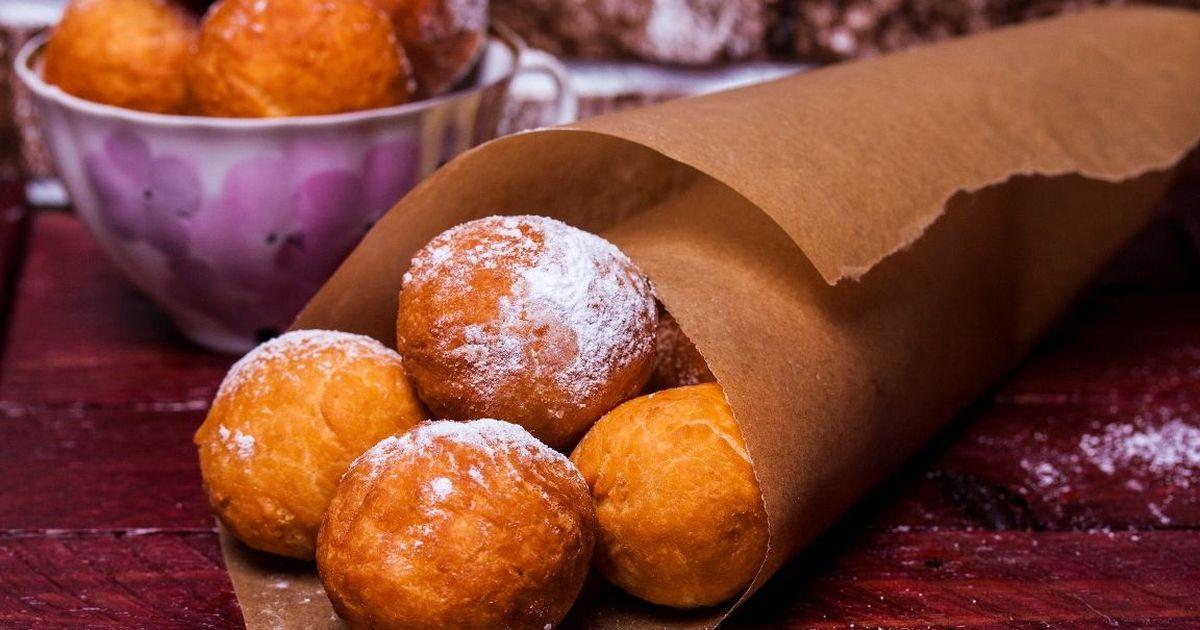 Фото Домашние творожные пончики