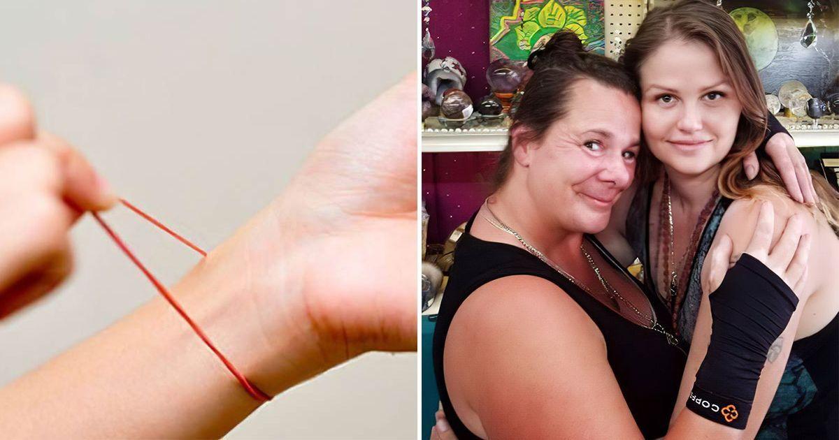 Фото Безобидная резинка для волос чуть не сделала женщину инвалидом