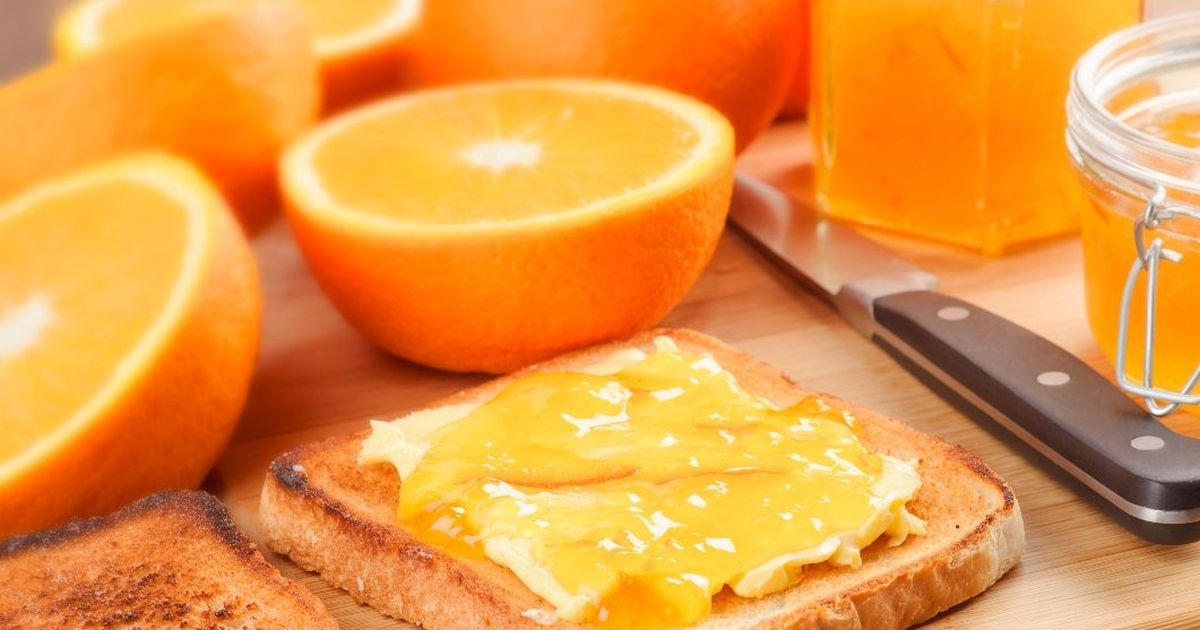 Фото Восхитительный апельсиновый мармелад