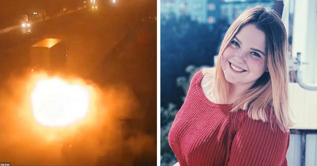 Фото Москвичка погибла в огненном ДТП на МКАДе после ссоры с парнем