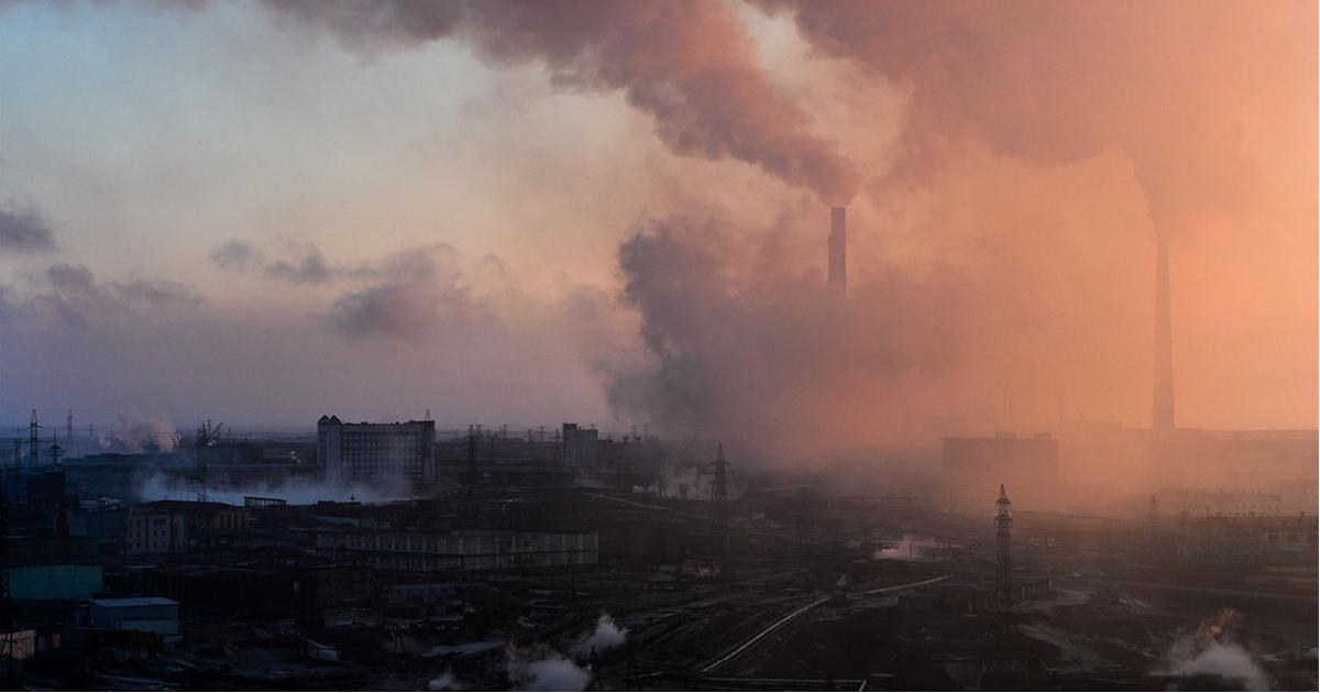 Фото Названо, где в России самые грязные воздух и земля