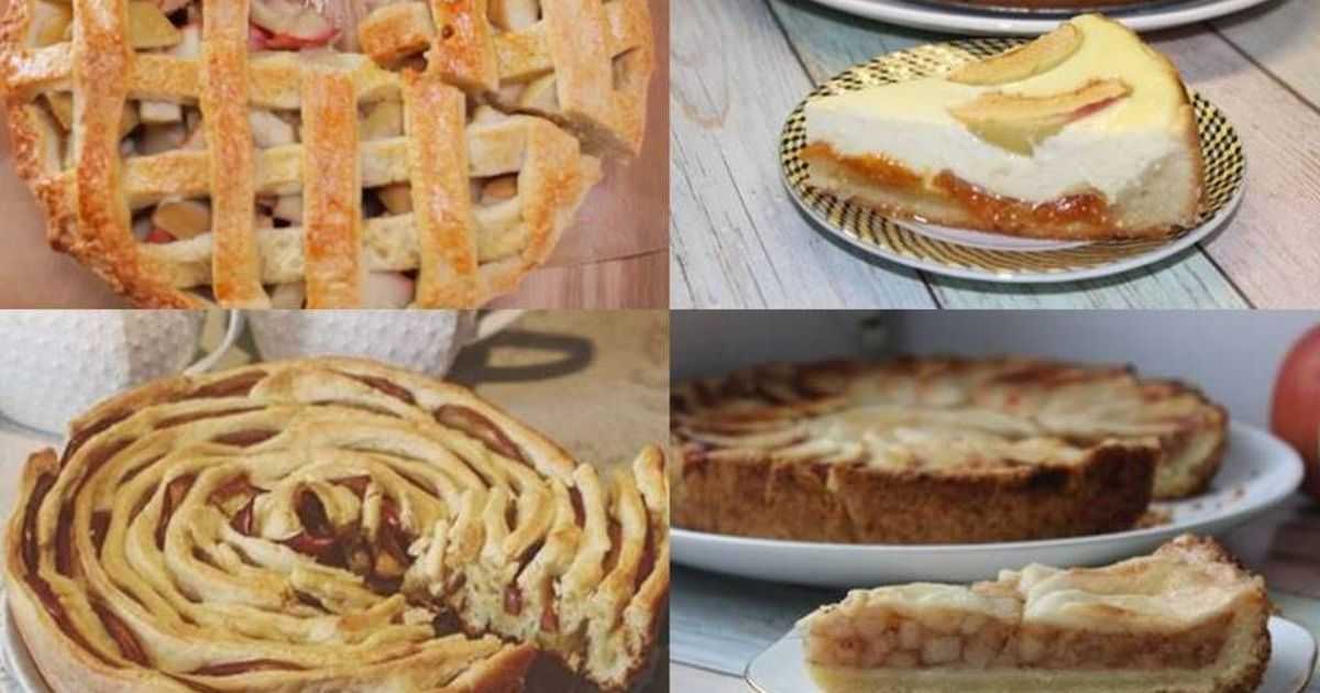 Фото 7 самых вкусных пирогов с яблоками