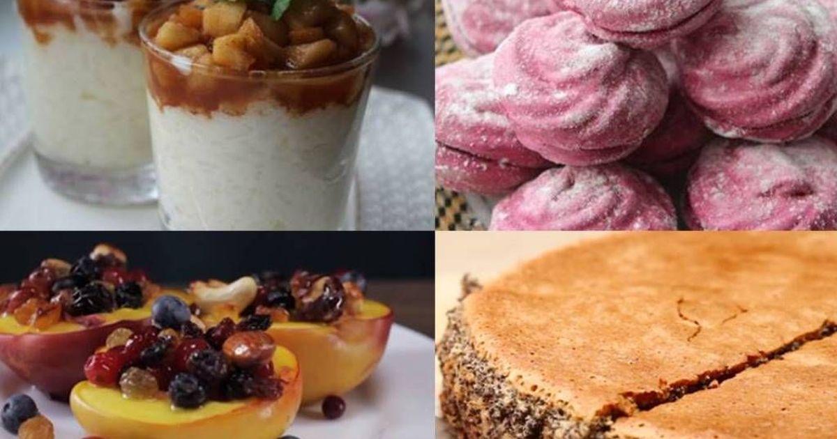 Фото 5 самых вкусных десертов без муки