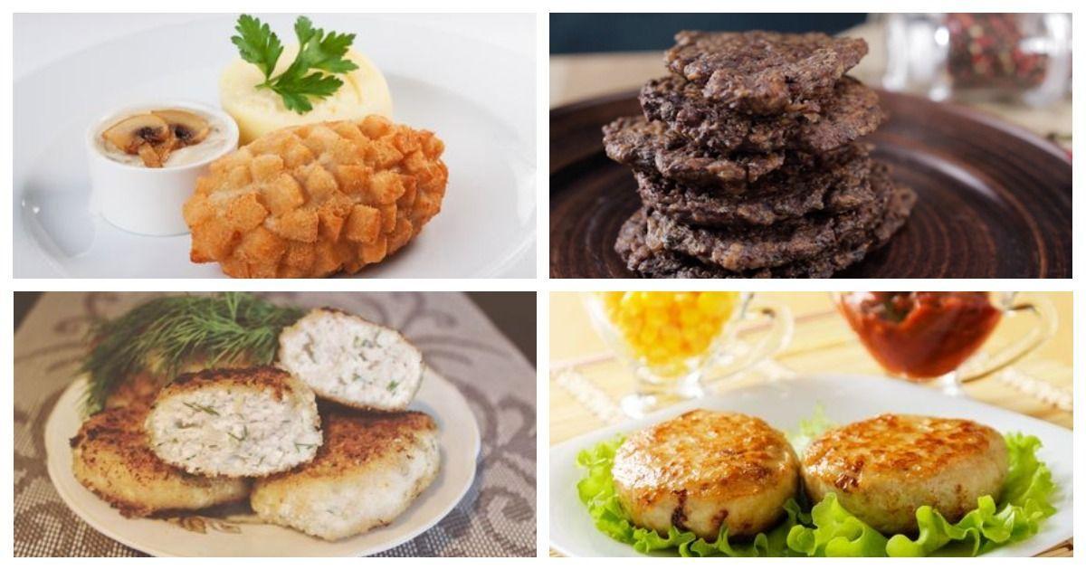 Фото 5 разных рецептов вкусных куриных котлет на любой вкус
