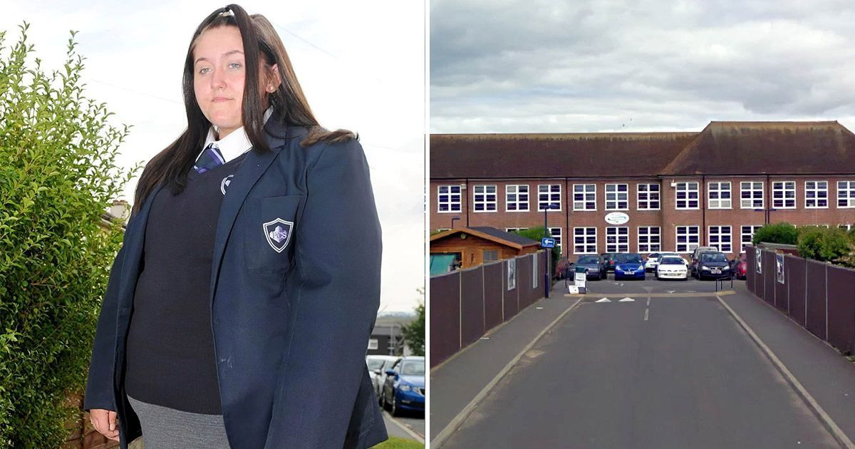 Фото Слишком большую для школьной униформы британку отстранили от учебы