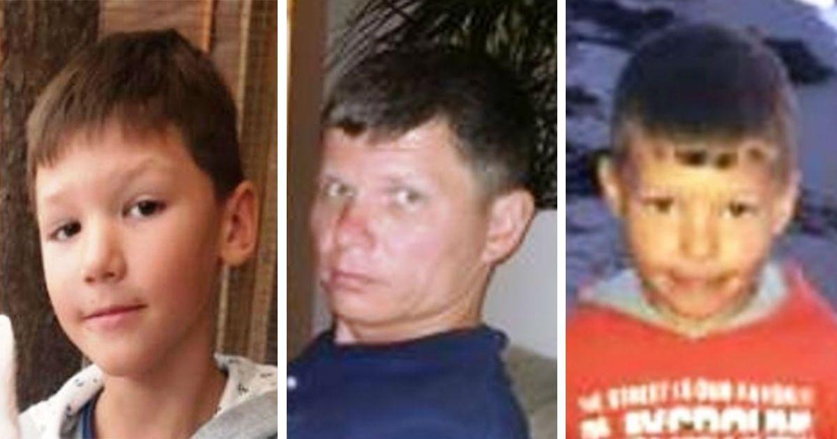 Фото В Уфе третьи сутки ищут мужчину, пропавшего с двумя сыновьями