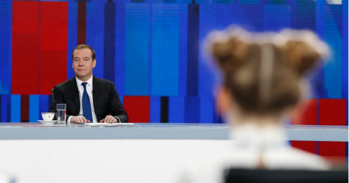 """Фото """"Мы грешны"""". Как понимать пресс-конференцию Медведева"""