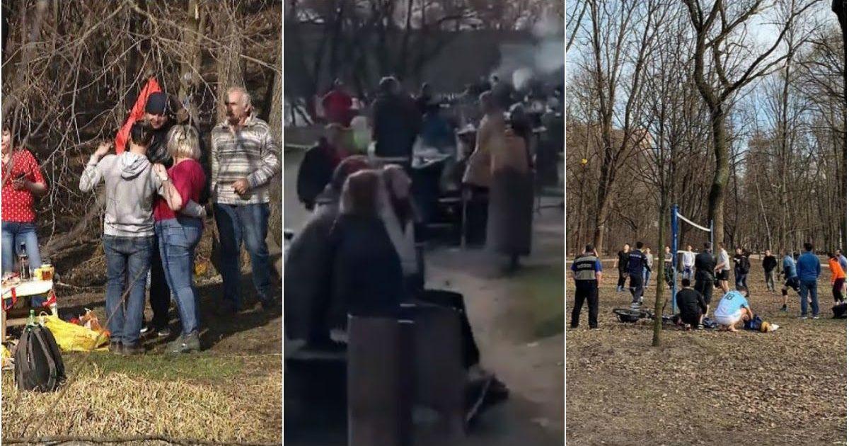 Фото Шашлык сам себя не пожарит: как россияне отмечают начало недели карантина