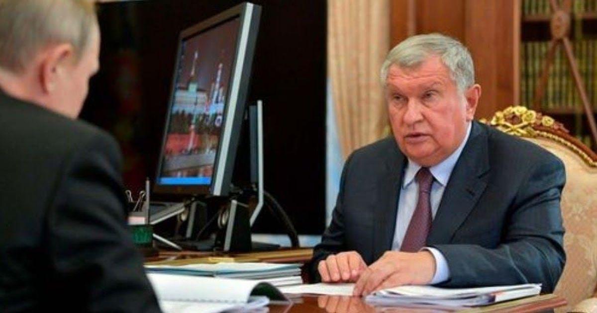 """Фото Правительство оставило Сечина во главе """"Роснефти"""" еще на пять лет"""