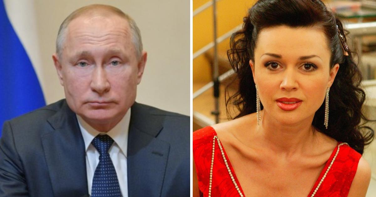 Фото Путину доложили о лечении Анастасии Заворотнюк