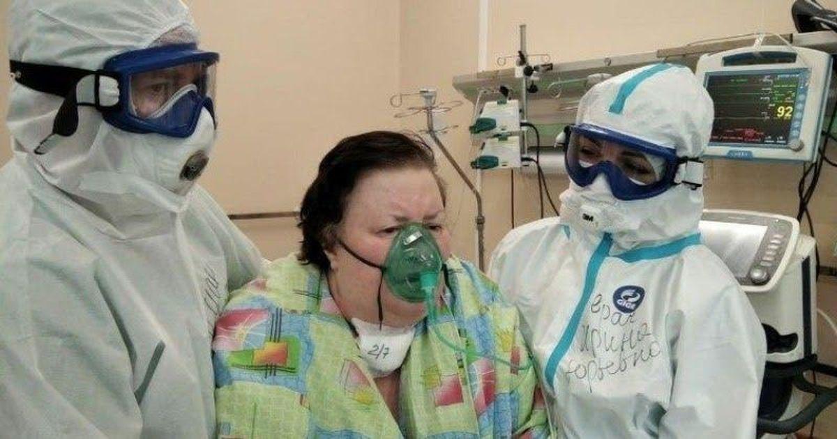 Фото В Твери спасли пациентку со 100-процентным поражением легких