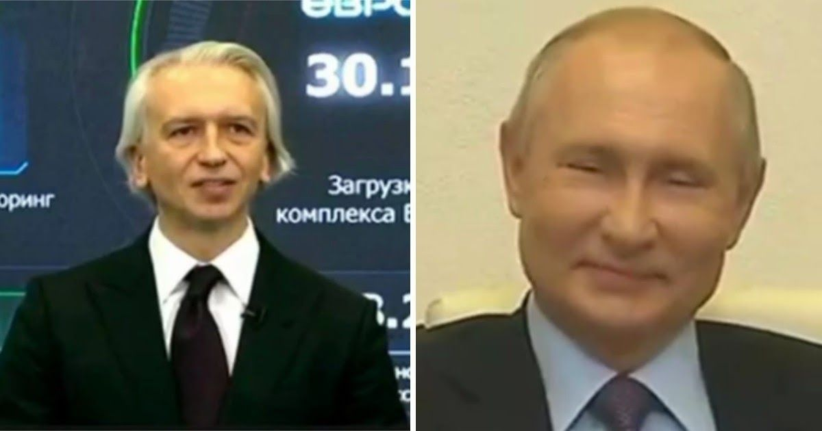 "Фото ""Добавить сотенку"". Путин подшутил над главой ""Газпром нефти"""