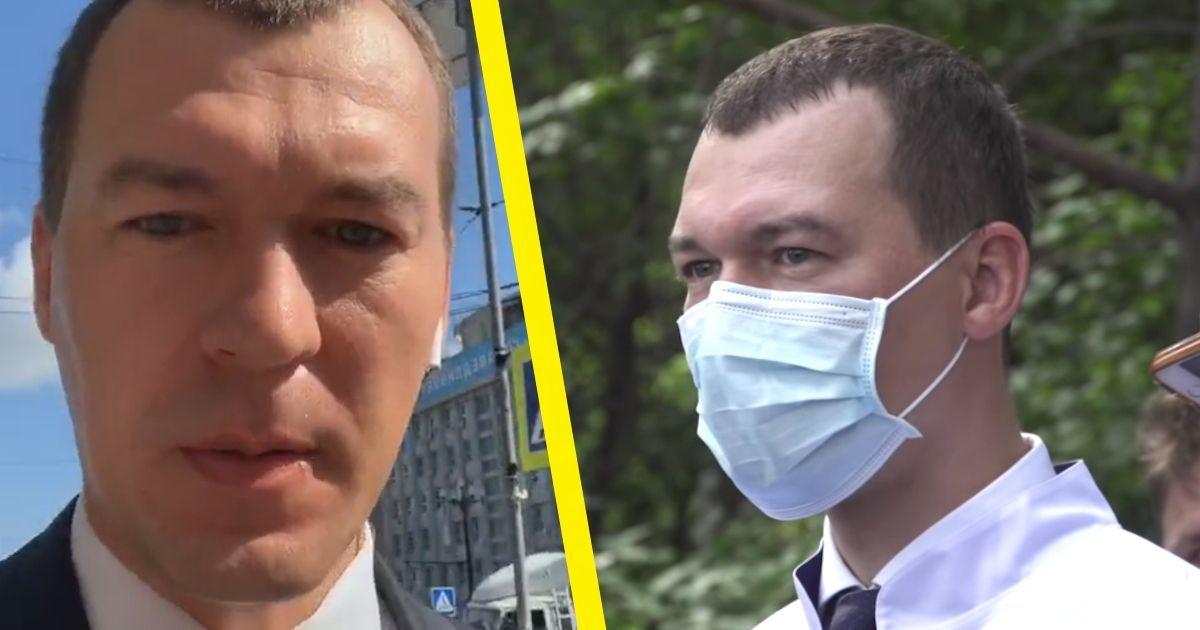 Фото Кто такой Михаил Дегтярёв: почему Хабаровск отверг нового губернатора
