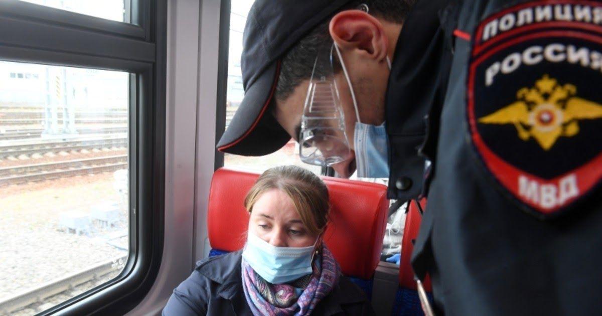 """Фото """"Чтобы не расслаблялись"""". В московском транспорте начались масочные рейды"""