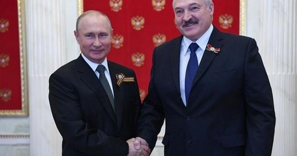 Фото Лукашенко договорился с Путиным по ЧВК Вагнера