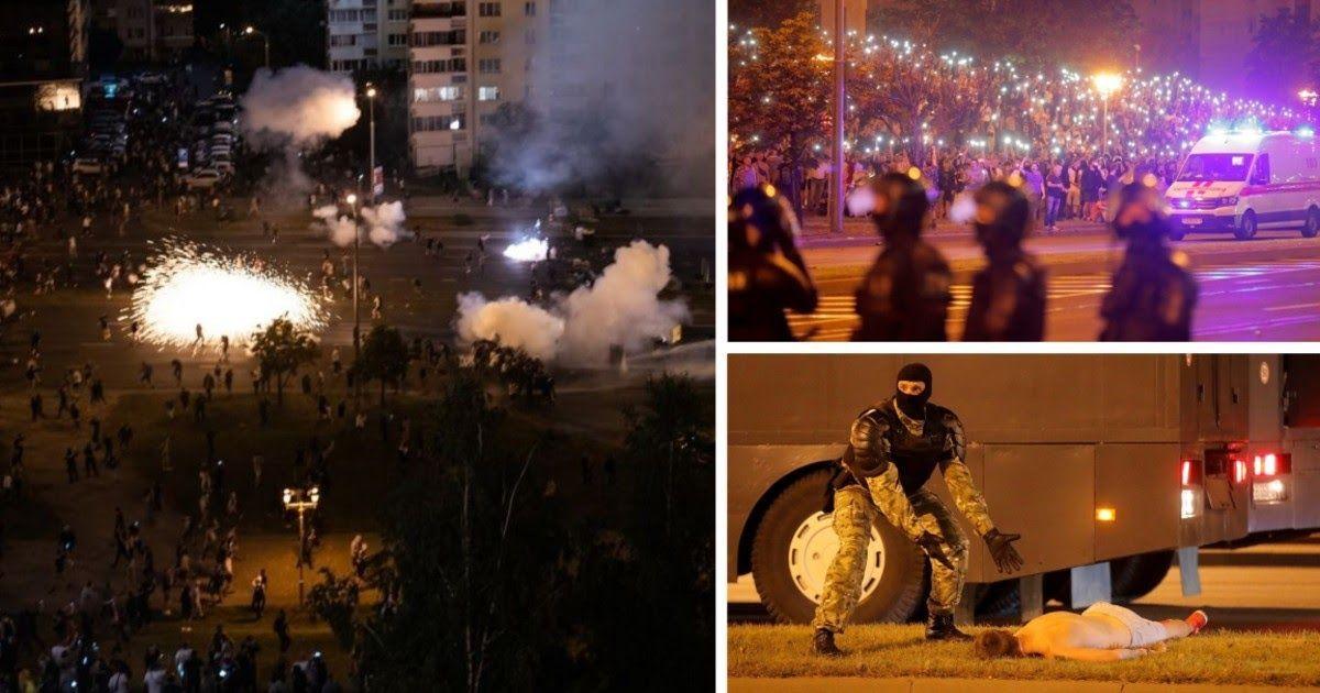 Фото Ночное побоище: что творилось на улицах Минска