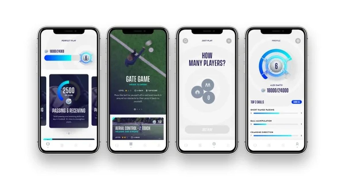Фото Приложение Perfect Play выведет ваши футбольные тренировки на новый уровень