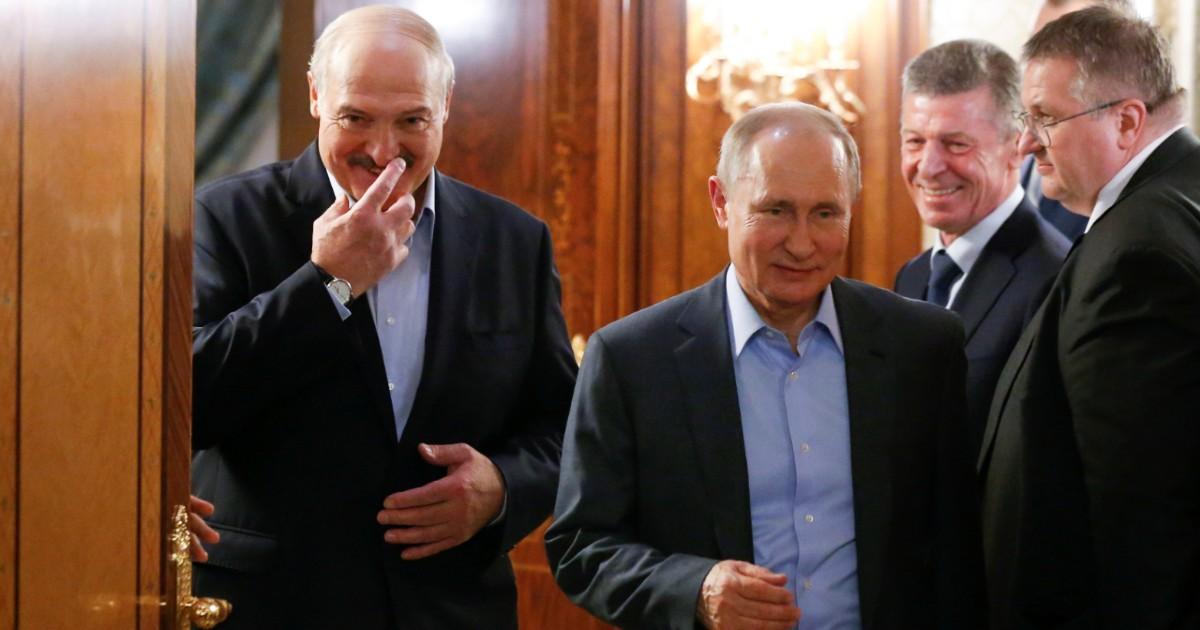 Фото Белорусский вопрос Путину: наш ли сукин сын Лукашенко и что с ним делать