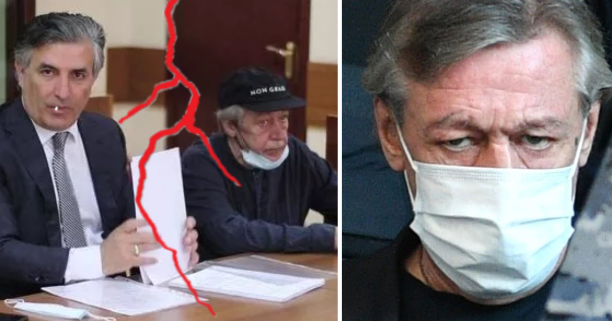 Фото Михаил Ефремов отказался от адвоката Эльмана Пашаева