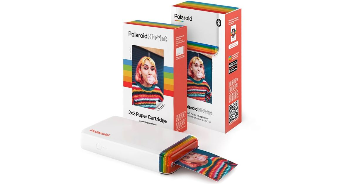 Фото Polaroid представила портативный принтер для мгновенной печати фотографий