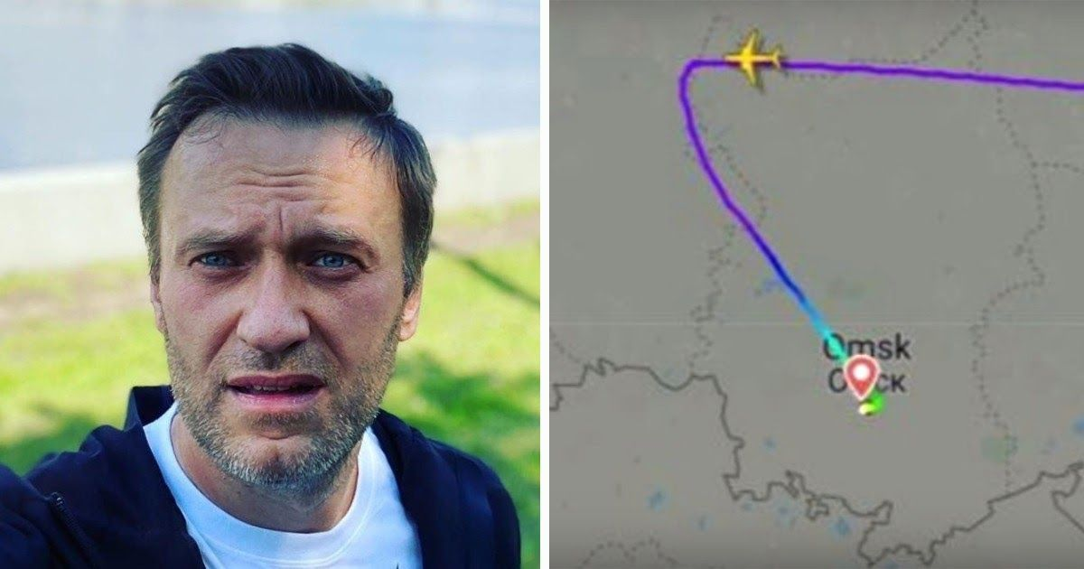 Фото Госпитализация Навального: опубликованы переговоры пилота с землей