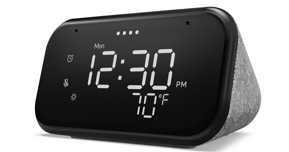 Фото Lenovo Smart Clock Essential — умный будильник за $50