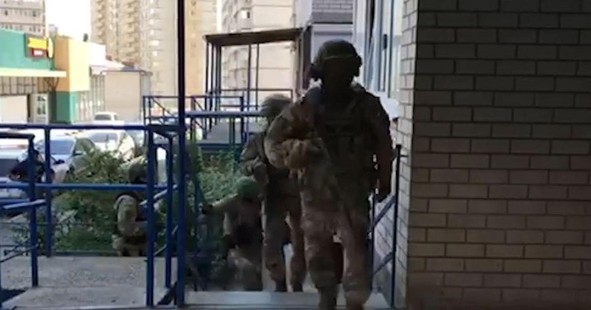 Фото ФСБ снова нашла в России подпольных оружейников