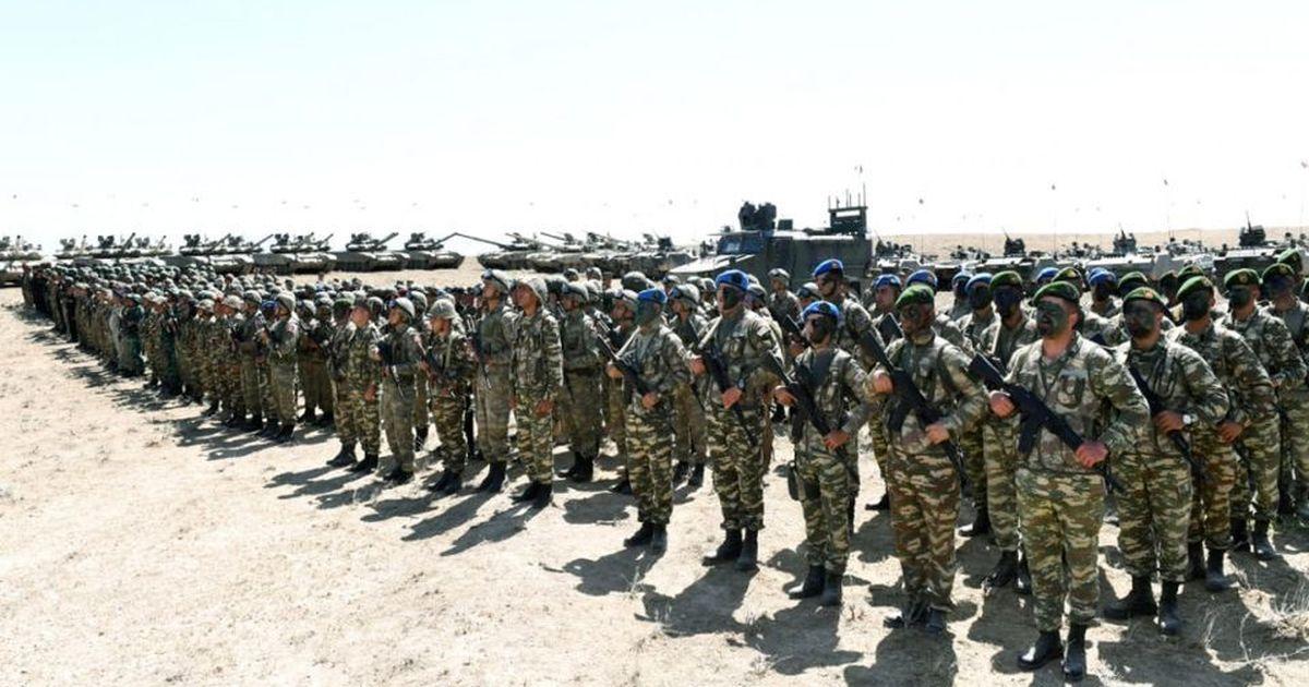 Фото Азербайджан отказался от учений с Россией