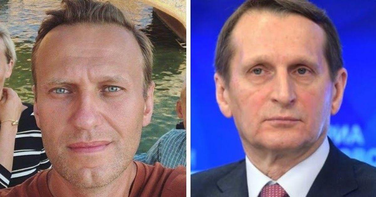 Фото Глава СВР Нарышкин сделал заявление по отравлению Навального