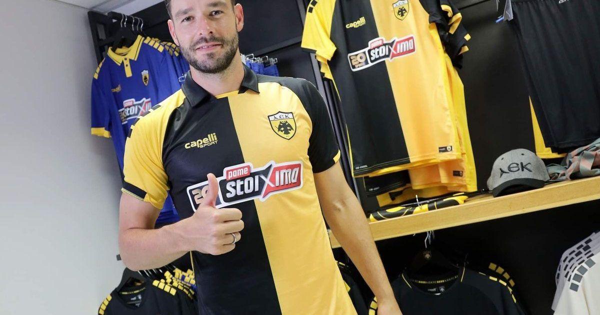 Фото Футболист сборной Украины перебрался из Италии в один из ведущих клубов Греции (фото)