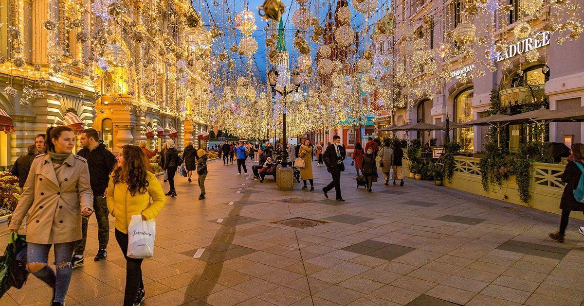 Фото В Москве составили топ улиц для ночных прогулок