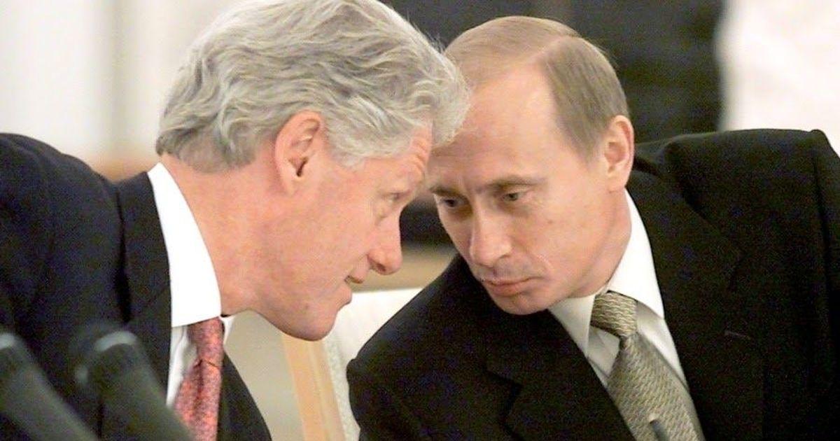 """Фото Опубликованы тайные переговоры Путина с Клинтоном о гибели """"Курска"""""""