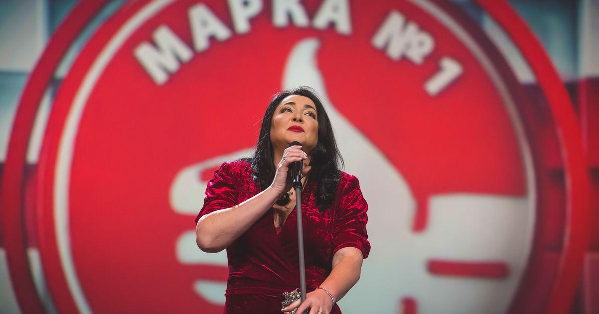 Фото «Марка №1 в России 2015» в телеэфире