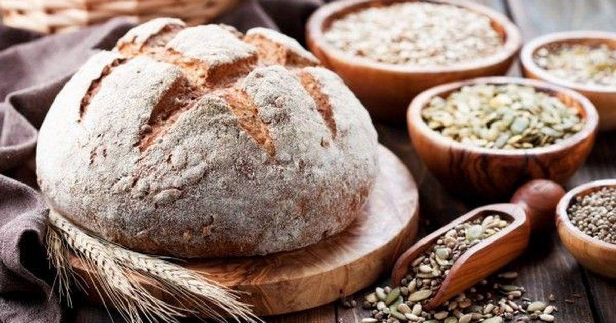 Фото Бездрожжевой хлеб из цельнозерновой муки