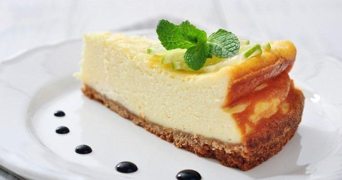 Фото Ленивый чизкейк с лимонным вкусом
