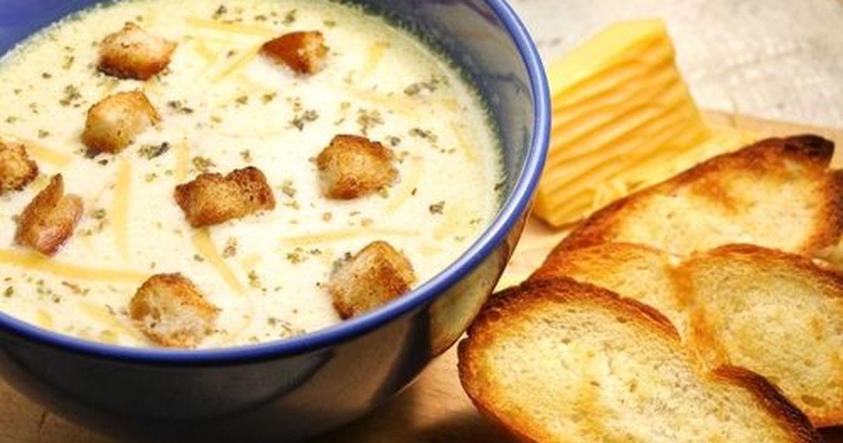 Фото Лёгкий, тёплый, нежный суп в холодные осенние дни