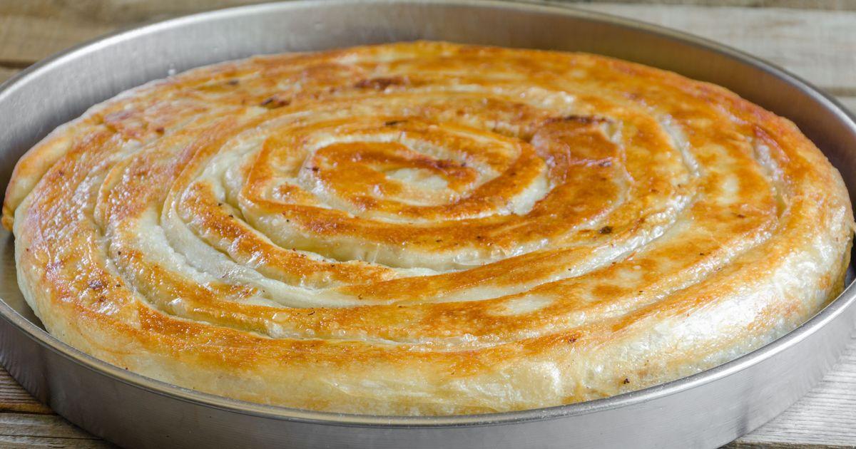 Фото Мясной пирог в лаваше