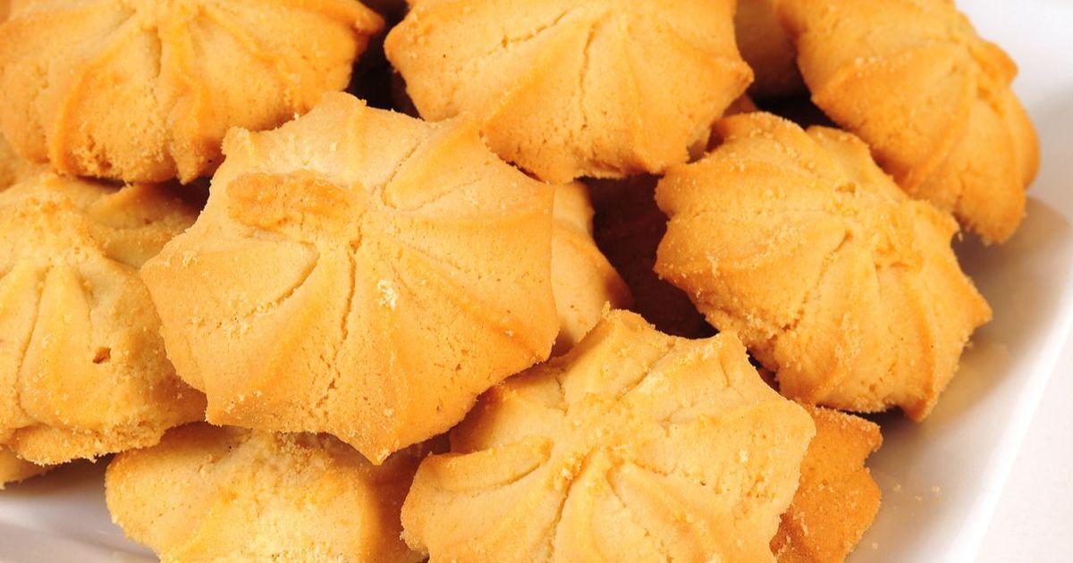 Фото Тающее во рту сливочное печенье