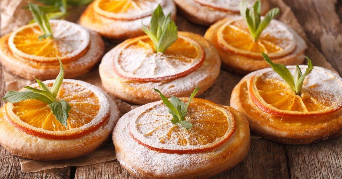 Фото Кокосово-мандариновое печенье.