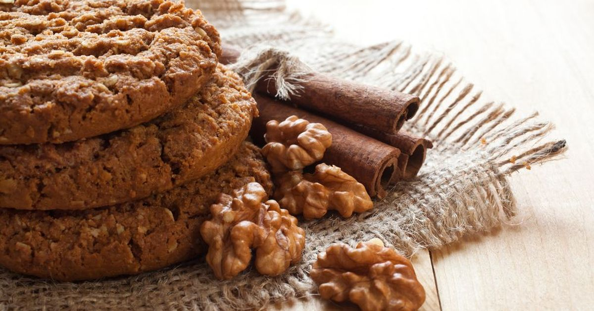Фото Ореховое печенье
