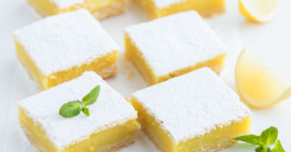 Фото Лимонные пирожные