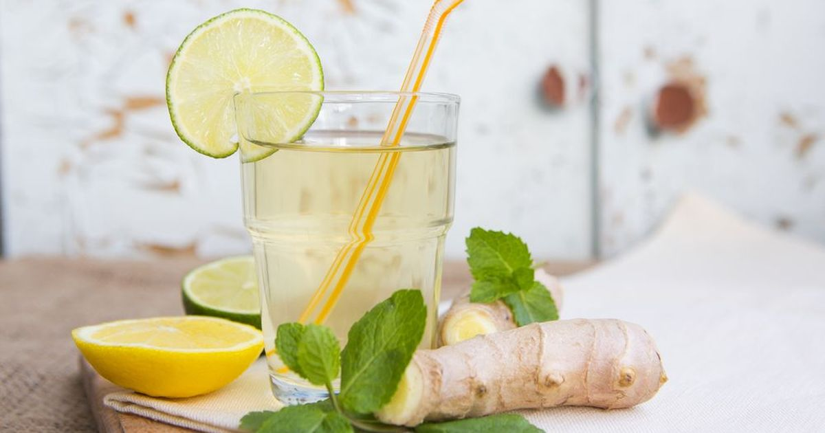 Фото Домашний имбирный лимонад