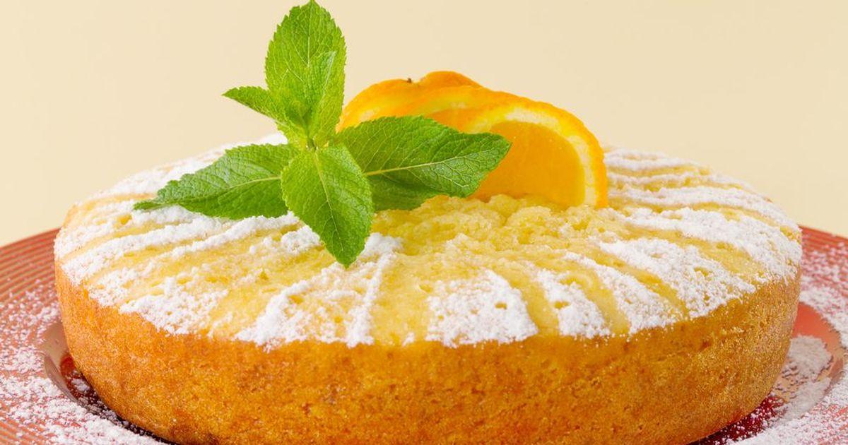 Фото Апельсиновый кекс в мультиварке