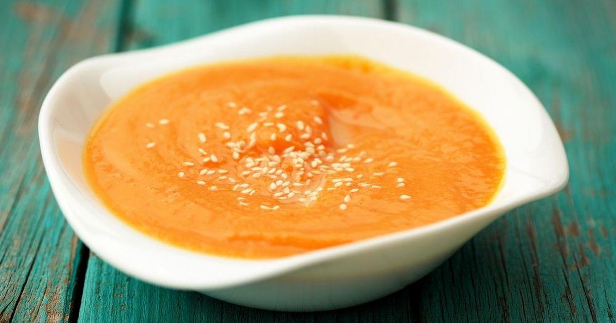 Фото Сладкий тыквенный суп-пюре