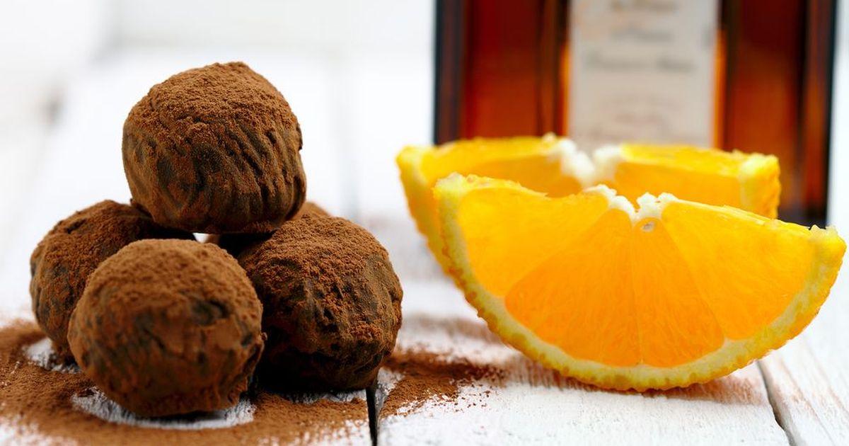 Фото Домашние трюфели с апельсином