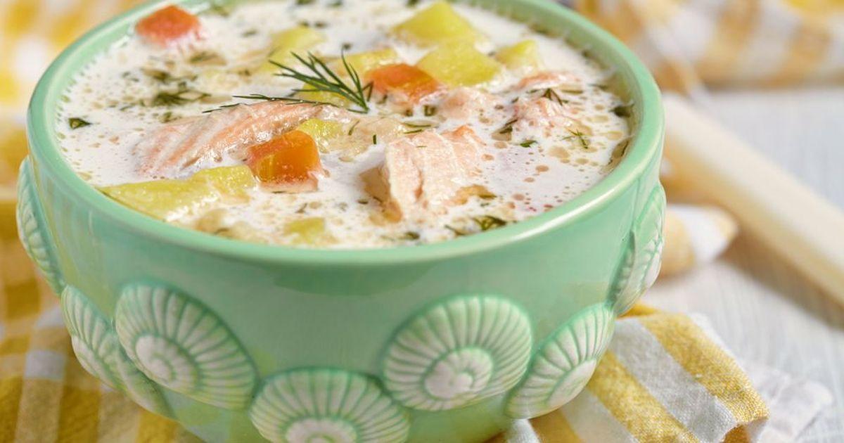 Фото Финский суп со сливками