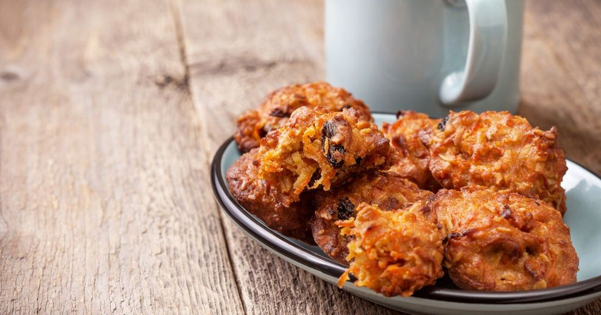 Фото Постное морковно-овсяное печенье