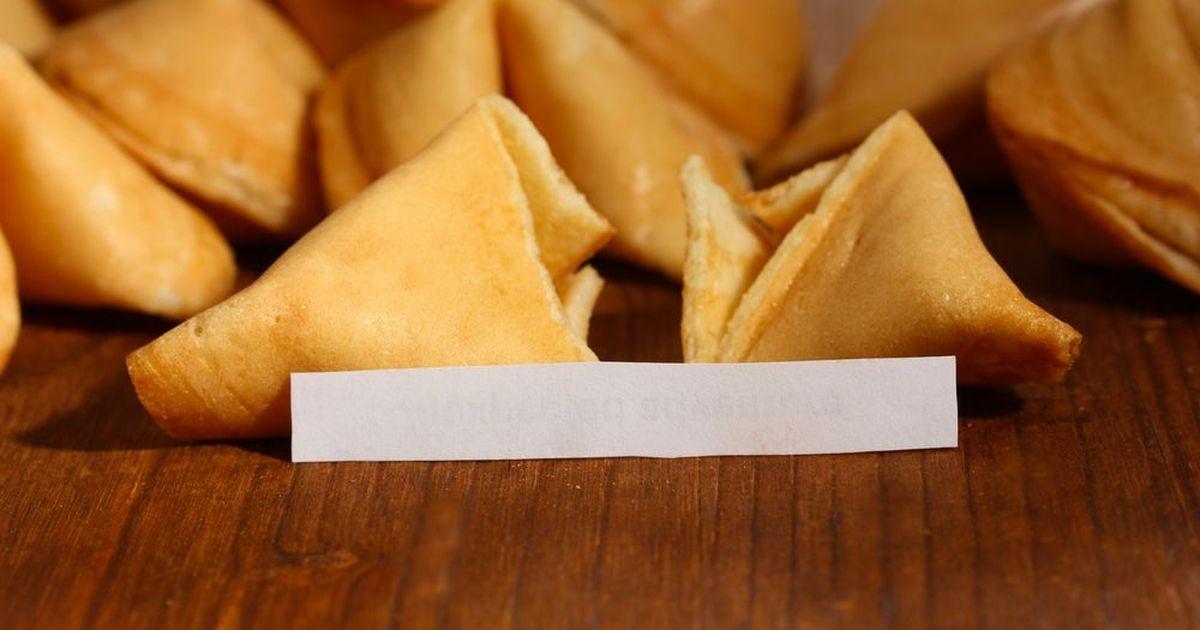 Фото Китайское печенье с предсказаниями