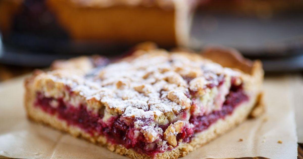 Фото Тертый пирог с вареньем
