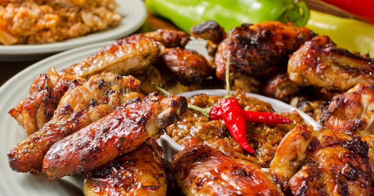 Фото Куриные крылышки в соево-имбирном маринаде